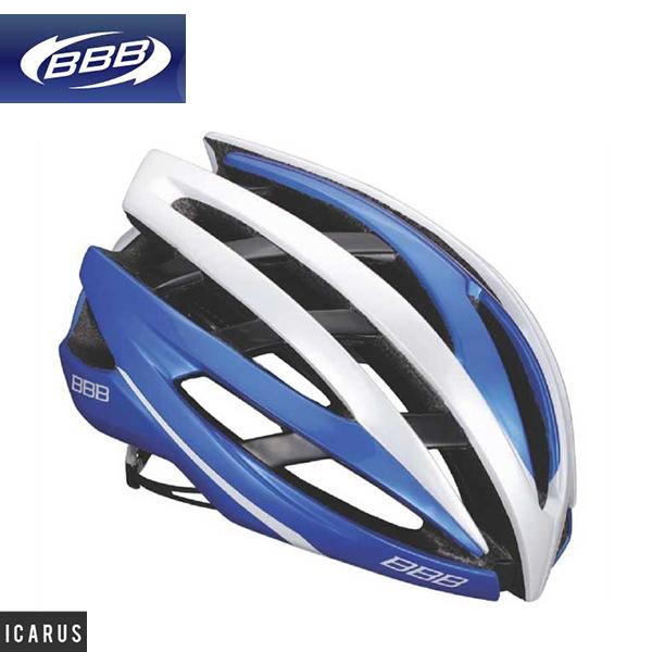 (送料無料)(BBB)ヘルメット ICARUS イカロス ブルーホワイト M(154849)L(154850)