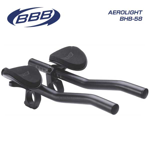 (BBB) HandleBar タイムトライアル用バー AEROLIGHTBAR エアロライトバー BHB-58(470366)