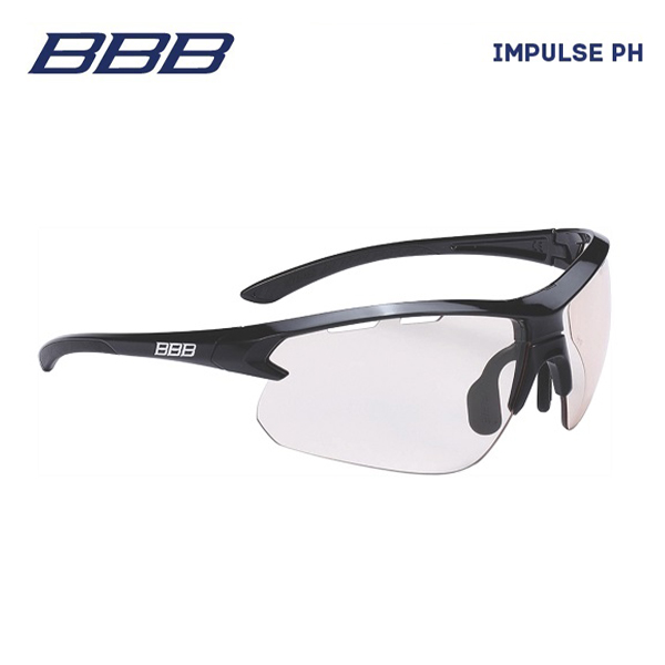 (送料無料)BBB スポーツグラス BSG-52PH IMPULSE PH インパルスPH グロッシーブラック(131425)