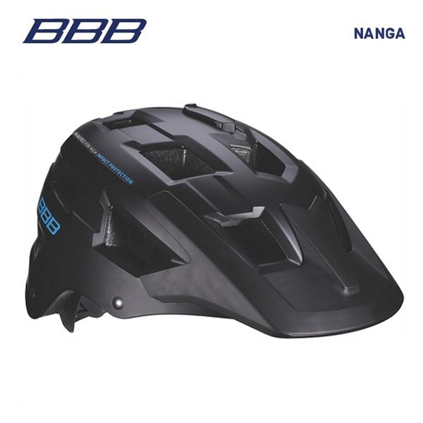 BBB ヘルメット BHE-54 NANGA ナンガ マットブラック/ブルー