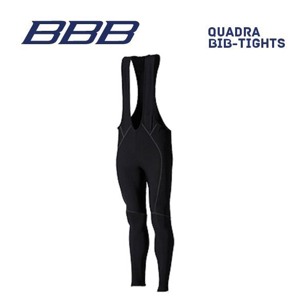 (送料無料)BBB クロージング BBW-183 QUADRA BIB-TIGHTS クアドラ ビブタイツ ブラック (パッド無し)