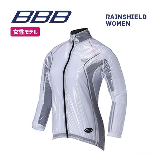 (送料無料)BBB クロージング BBW-145 RAINSHIELD WOMEN レインシールド ウーマン セミクリアホワイト