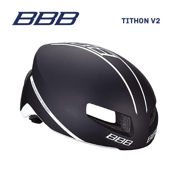 (送料無料)BBB ヘルメット BHE-08 TITHON V2 ティトノス V2 マットブラック