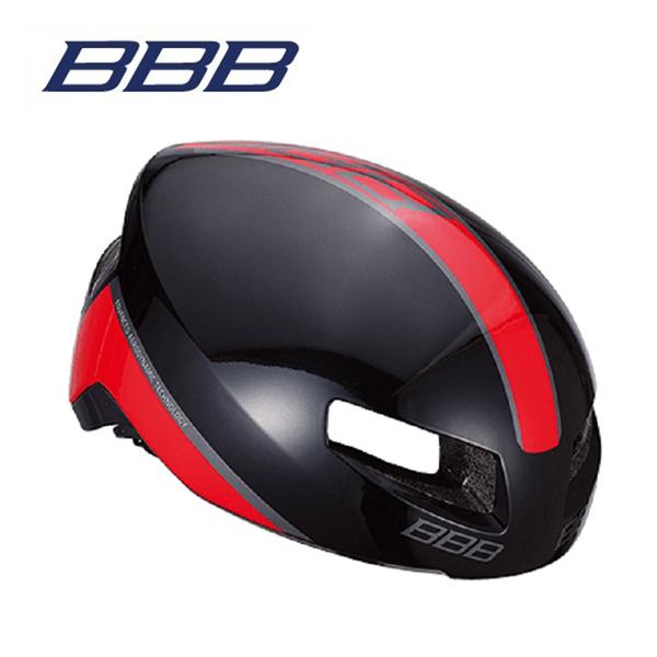 (送料無料)BBB ヘルメット BHE-08 TITHON V2 ティトノス V2 グロッシーブラック/レッド