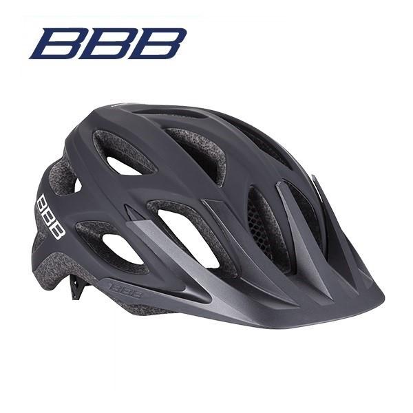 (送料無料)BBB ヘルメット BHE-67 VARALLO バラロ ソリッドマットブラック
