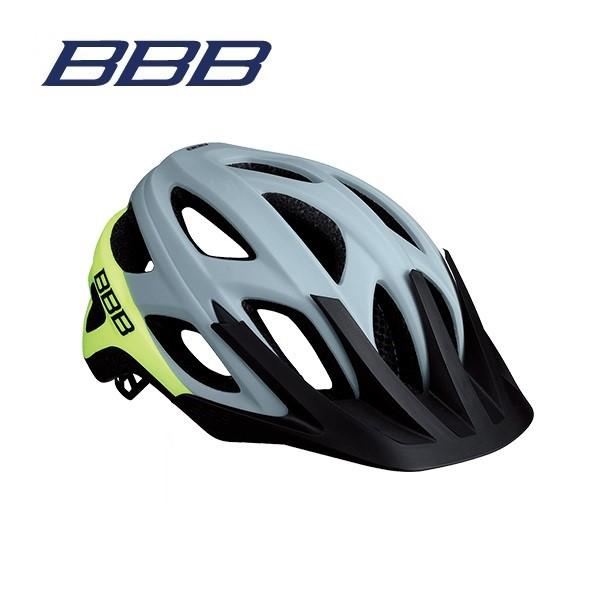 BBB ヘルメット BHE-67 VARALLO バラロ マットグレー/ネオンイエロー