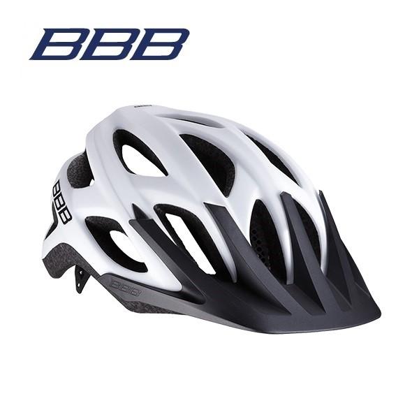 BBB ヘルメット BHE-67 VARALLO バラロ ソリッドマットホワイト