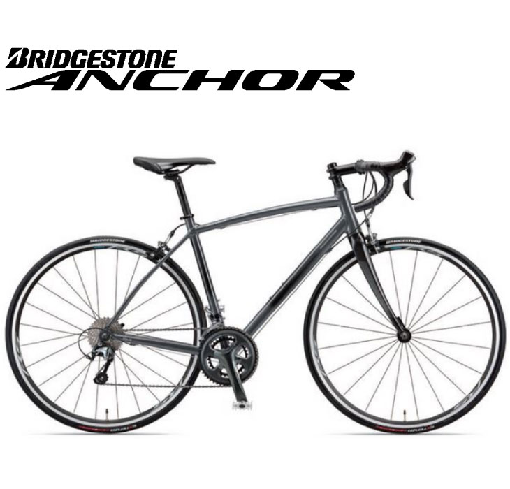 (選べる特典付)ロードバイク 2020 ANCHOR アンカー RL3 DROP TIAGRA MODEL RL3ドロップ ティアグラ仕様 ストーングレー 20段変速 700C アルミ