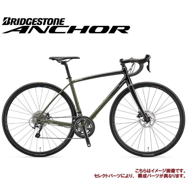 (選べる特典付)ディスク ロードバイク 2020 ANCHOR アンカー RL6D TIAGRA MODEL フォレストカーキ ティアグラ仕様 20段変速 700C アルミ (セレクトパーツ対象)