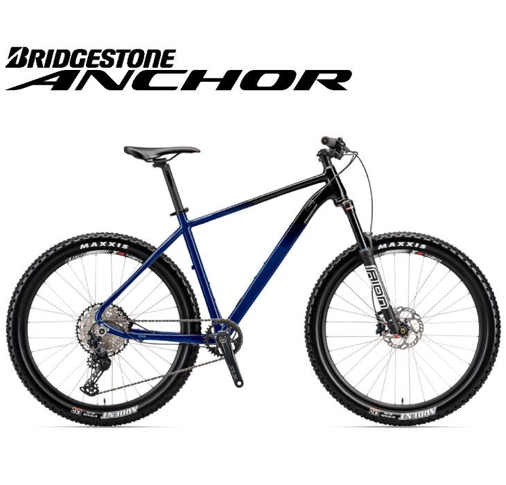(選べる特典付)マウンテンバイク 2020 ANCHOR アンカー XG6 SLX MODEL オーシャンネイビー シマノ SLX仕様 12段変速 27.5インチホイール アルミ MTB