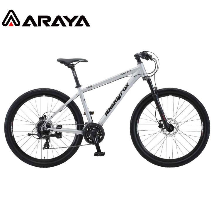 マウンテンバイク 2020 ARAYA アラヤ MFD Muddy Fox Dirt マディ フォックス ダート マットサテン 24段変速 27.5' 油圧ディスクブレーキ