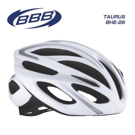 (送料無料)(BBB)HELMET ヘルメット TAURUS BHE-26 トーラスBHE-26 ホワイトシルバー M(154869)