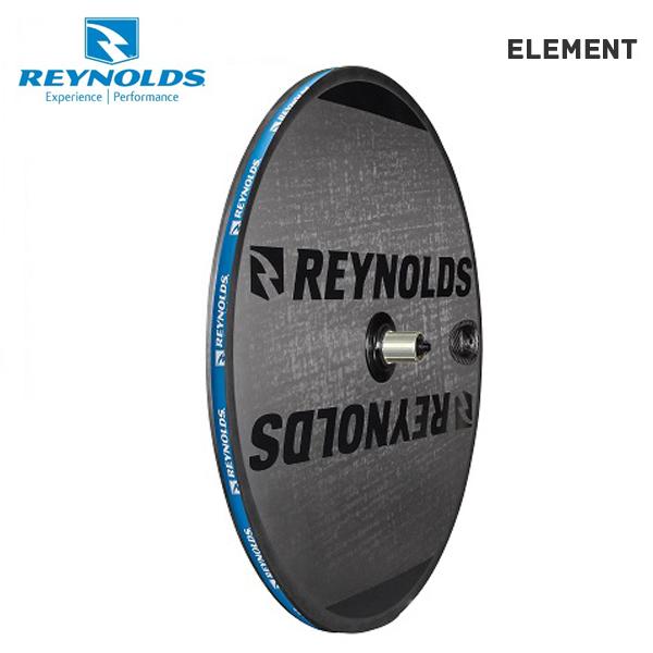 (送料無料)REYNOLDS レイノルズ ホイール ELEMENT ディスクホイール チューブラー シマノ(9-10-11S) (76601)(847863016485)