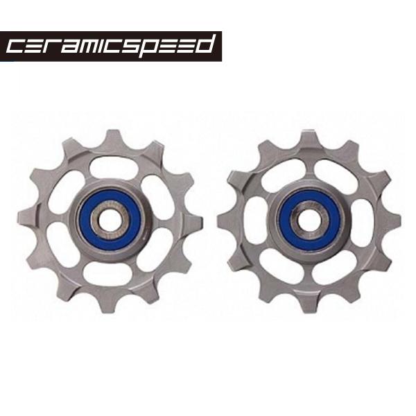 (送料無料)CERAMIC SPEED セラミックスピード プーリーホイールキット チタンプーリーホイールキット スラム1-11 (6200152)