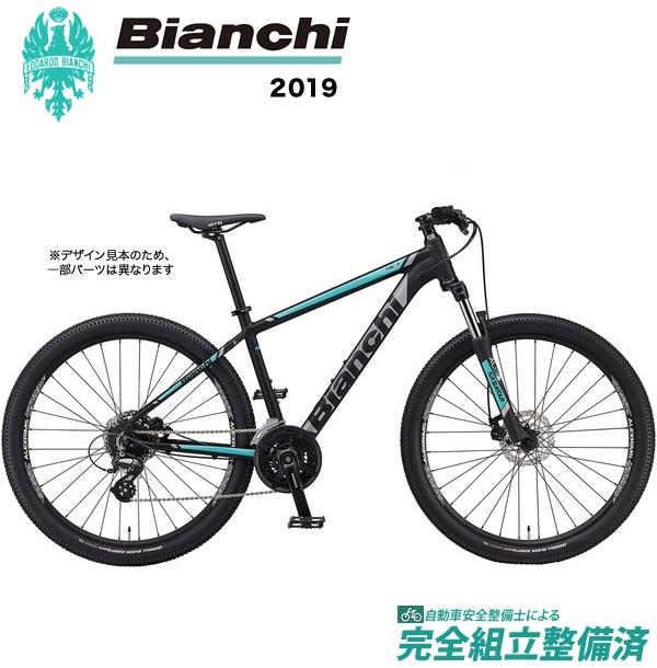 マウンテンバイク 2019年モデル BIANCHI ビアンキ MAGMA27.1 マグマ 27.1 Matt Black/CK16