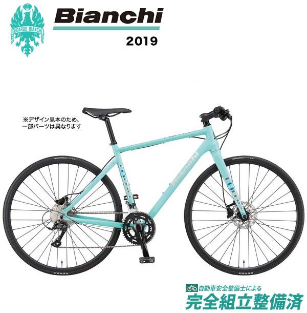 クロスバイク 2019年 BIANCHI ビアンキ ROMA2 Disc ローマ2 Disc Matt CK16