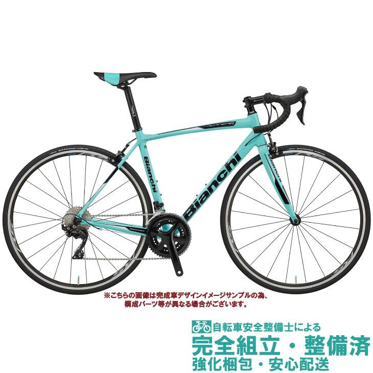 ロードバイク 2020 BIANCHI ビアンキ VIA NIRONE 7 SHIMANO 105 ビア ニローネ7 シマノ 105 CK16/BLACK FULL GLOSSY(1D) 2×11SP 700C アルミ