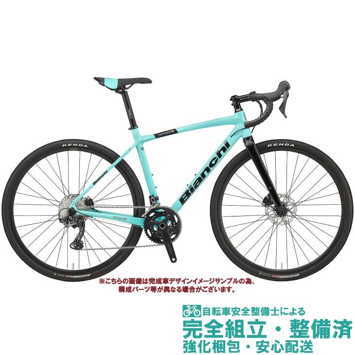 グラベルロードバイク 2020 BIANCHI ビアンキ IMPLUSO ALL ROAD SHIMANO GRX 600 インプルソオールロードGRX600 CK16/BLACK FULL GLOSSY(5K) 2×11SP DISC BRAKE