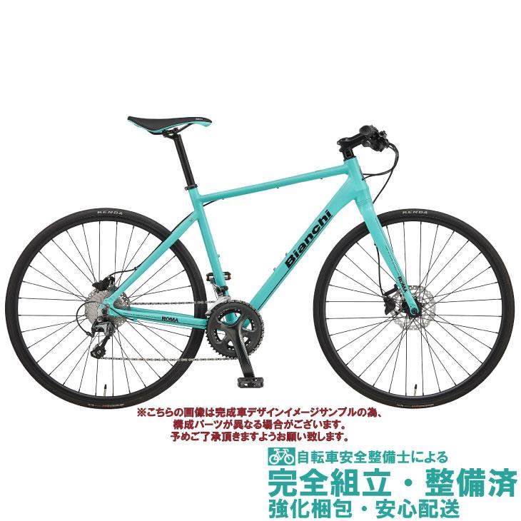 クロスバイク 2020 BIANCHI ビアンキ ROMA 1 DISC ローマ1ディスク CK16 20段変速 SHIMANO TIAGRA 700C 油圧ディスクブレーキ (ペダル標準装備)
