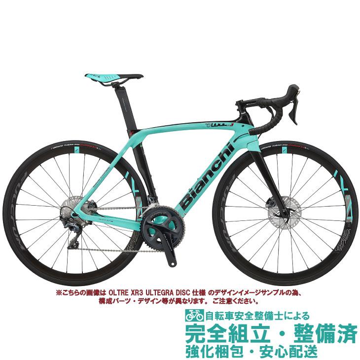 ロードバイク 2020 BIANCHI ビアンキ OLTRE XR3 DISC  SHIMANO 105 オルトレXR3ディスク シマノ105 CK16/BLACK FULL GLOSSY(5K) 2×11SP カーボン