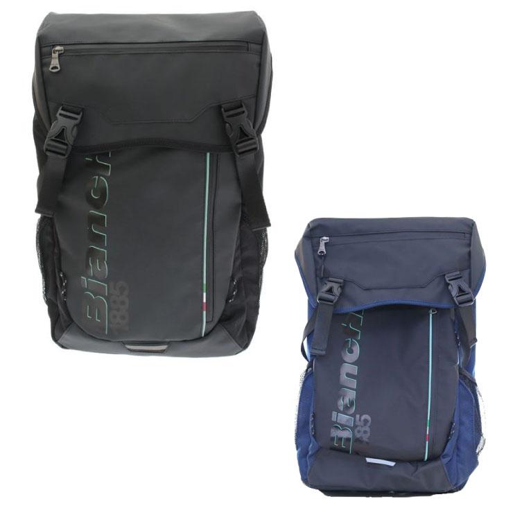 BIANCHI ビアンキ ボックス型バッグ Lサイズ 25L レインカバー付き バッグパック