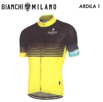 (SALE)(送料無料)(BIANCHI MILANO) ビアンキミラノ WEAR ウェア ARDILA1 02296904216E000 10 ブラックイエローチェレステ