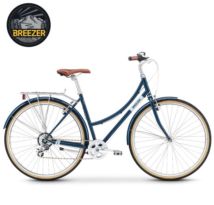 (期間限定送料無料+オリジナルグッズプレゼント 3/31迄)シティーサイクル 2020 BREEZER ブリーザー DOWNTOWN EX ST ダウンタウンEX ST マリンブルー