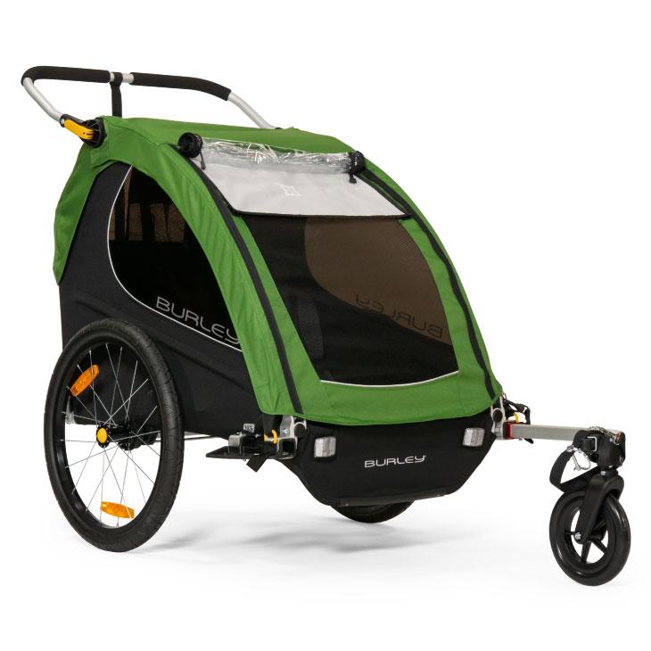 BURLEY バーレー ENCORE アンコール V2グリーン 自転車用ベビーカー (021505)