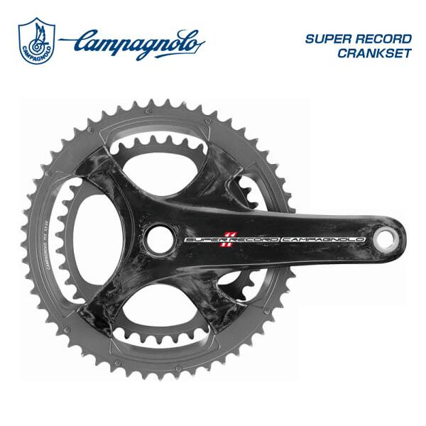 (Campagnolo)カンパニョーロ SUPER RECORD スーパーレコード CRANKSET クランクセット 53×39T 11S 左右セット
