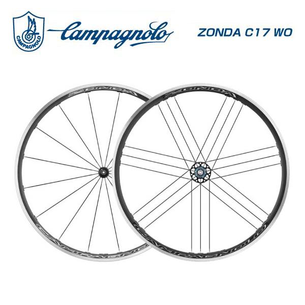 Campagnolo カンパニョーロ ロードホイール ZONDA C17 WO ゾンダC17クリンチャー シマノ(9-10-11S)前後セット(8050046163780)