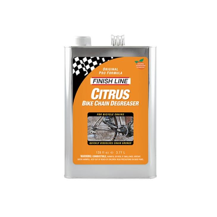 (ケミカル用品) FINISH LINE フィニッシュライン Citrus Bike Chain Degreaser シトラス バイオソルベントディグリーザー 3.77L(TOS09502)(0036121185005)