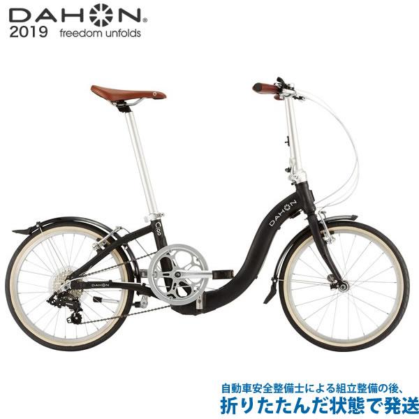 (特典付)折り畳み 2019年モデル DAHON ダホン Ciao チャオ マットブラック