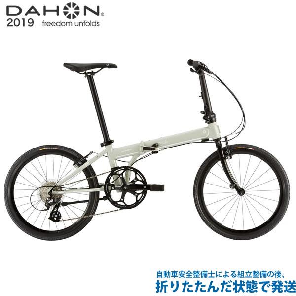 (特典付)折り畳み 2019年モデル DAHON ダホン Speed Falco スピードファルコ クールグレー