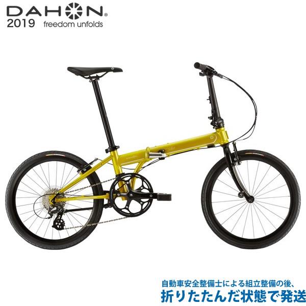 (特典付)折り畳み 2019年モデル DAHON ダホン Speed Falco スピードファルコ ライムグリーン