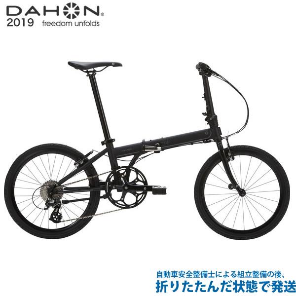 (特典付)折り畳み 2019年モデル DAHON ダホン Speed Falco スピードファルコ マットブラック