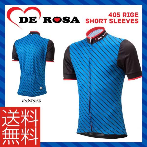 (送料無料)(DE ROSA)デローザ WEAR ウェア 405 RIGE SHORT SLEEVES 405RIGEショートスリーブ