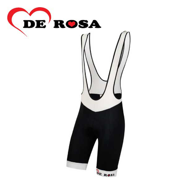 (送料無料)(DE ROSA)デローザ WEAR ウェア 401 LOGO BIB 401ロゴビブショーツ