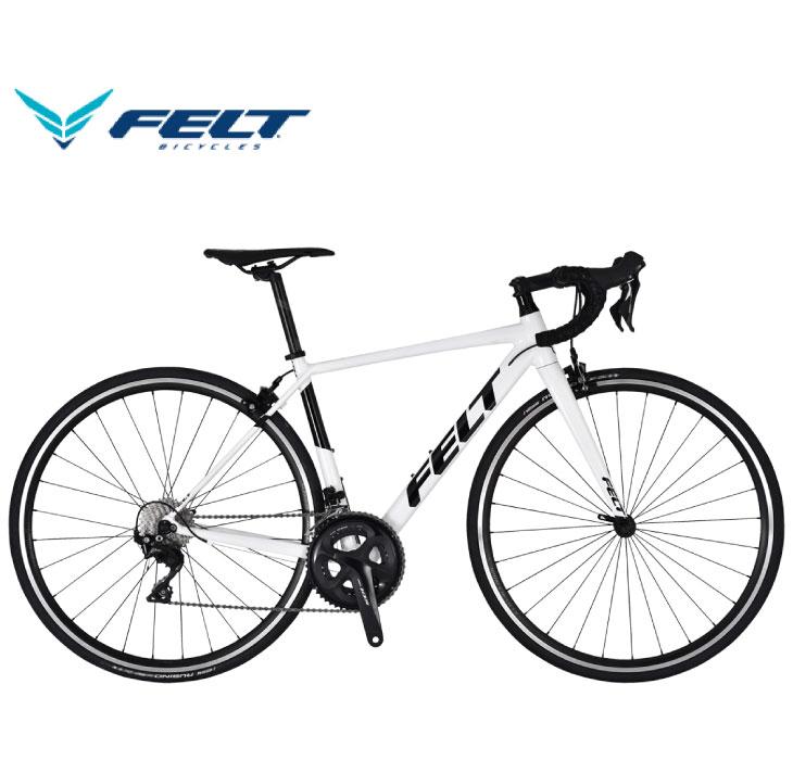(選べる特典付)ロードバイク 2020 FELT フェルト FR30 ホワイト SHIMANO 105 2×11SP 700C アルミ 日本限定モデル