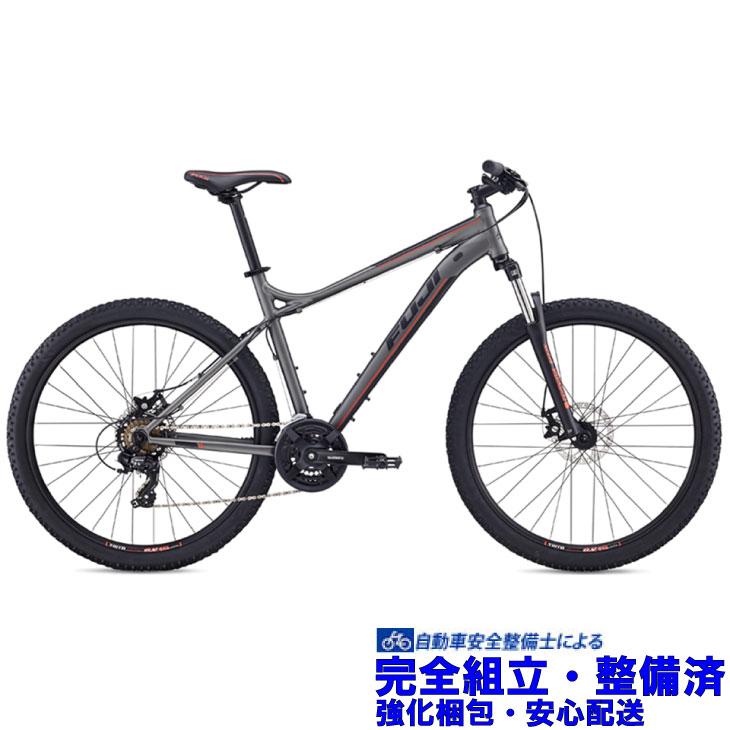 マウンテンバイク 2019 FUJI フジ NEVADA 27.5 1.9 ネバダ27.5 1.9 マットアンスラサイト