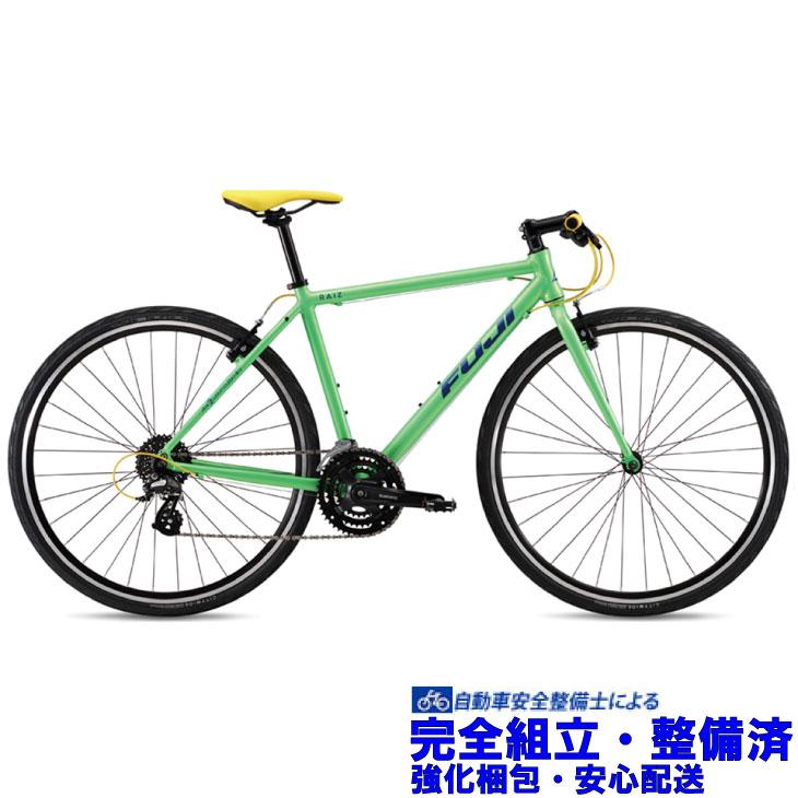 クロスバイク 2019 FUJI フジ RAIZ ライズ ライムグリーン