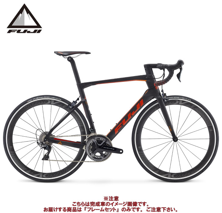 (ケミカル3点プレゼント)ロードバイク 2020 FUJI フジ TRANSONIC 2.1 FRAME SET MATTE CARBON/RED フレームセット
