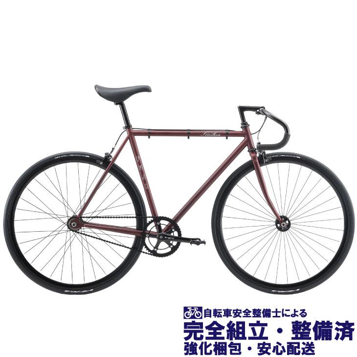 ロードバイク 2020 FUJI フジ FEATHER フェザー マットレッド (シングルスピード)(ピストバイク)(700C)(クロモリ)(ペダル標準装備)