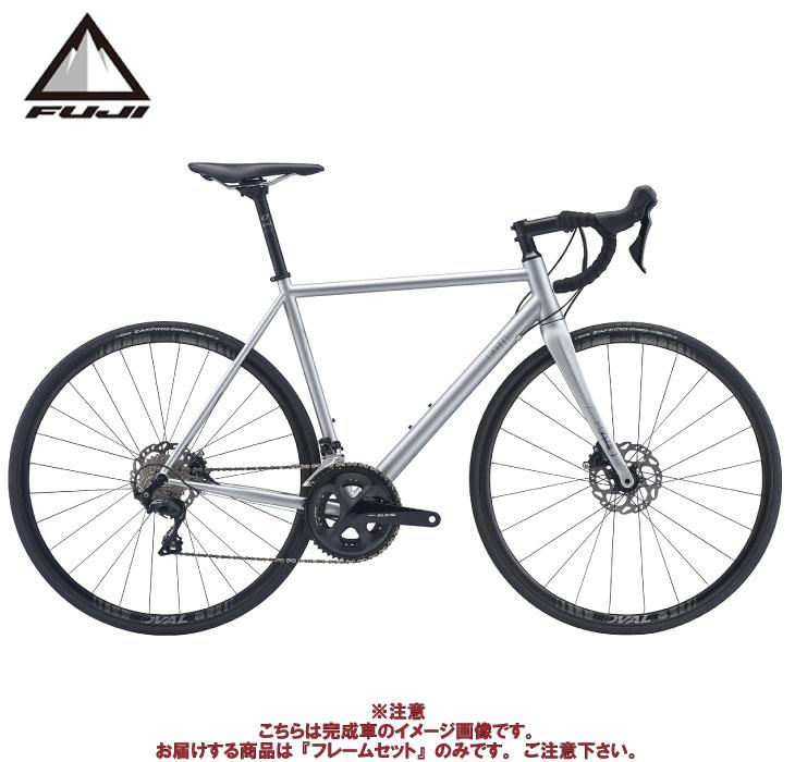 (ケミカル3点プレゼント)ロードバイク 2020 FUJI フジ FOREAL DISC FRAME SET マットシルバー フレームセット