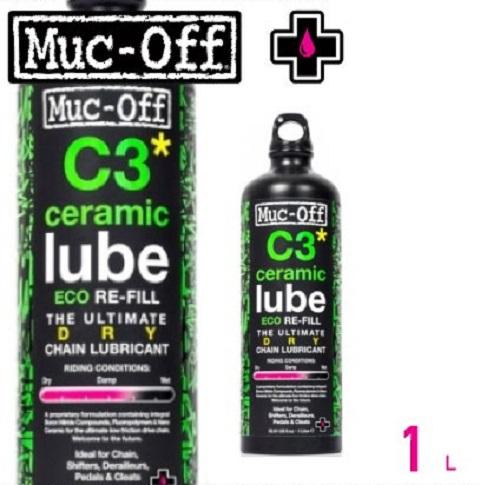 (送料無料)(MUC-OFF)マックオフ ケミカル用品 C3 DRY CERAMIC LUBE 1L C3ドライセラミックルブ1L(0314740001)(30001029)