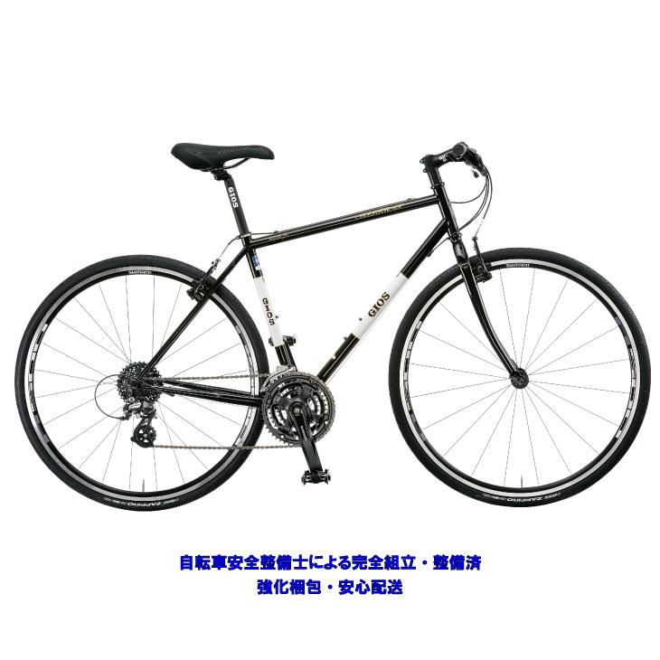 (選べる特典付!)クロスバイク 2020 GIOS ジオス MISTRAL CHROMOLY ミストラル クロモリ ブラック 24段変速 700C クロモリ