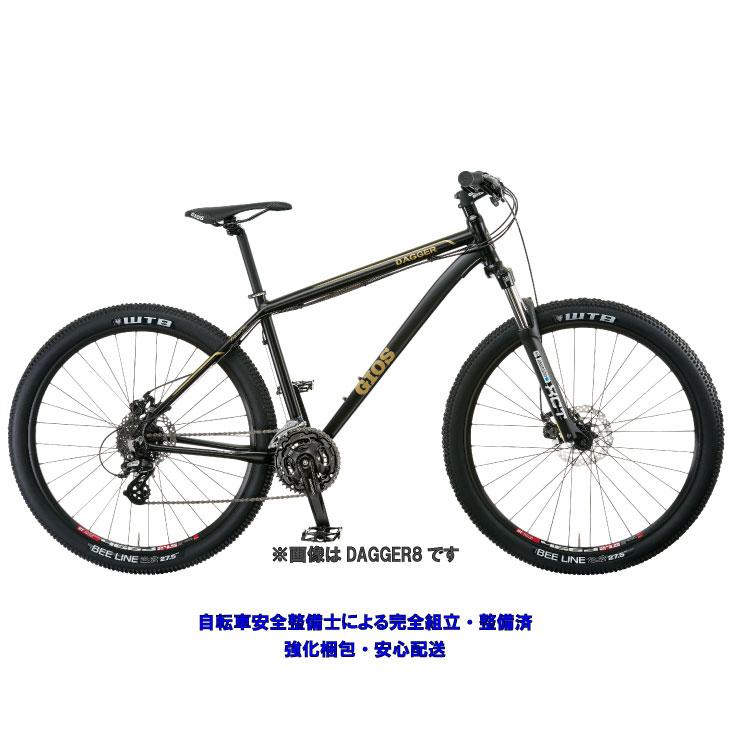 (特典付)マウンテンバイク 2019 GIOS ジオス 9 ダガ―9 マットブラック
