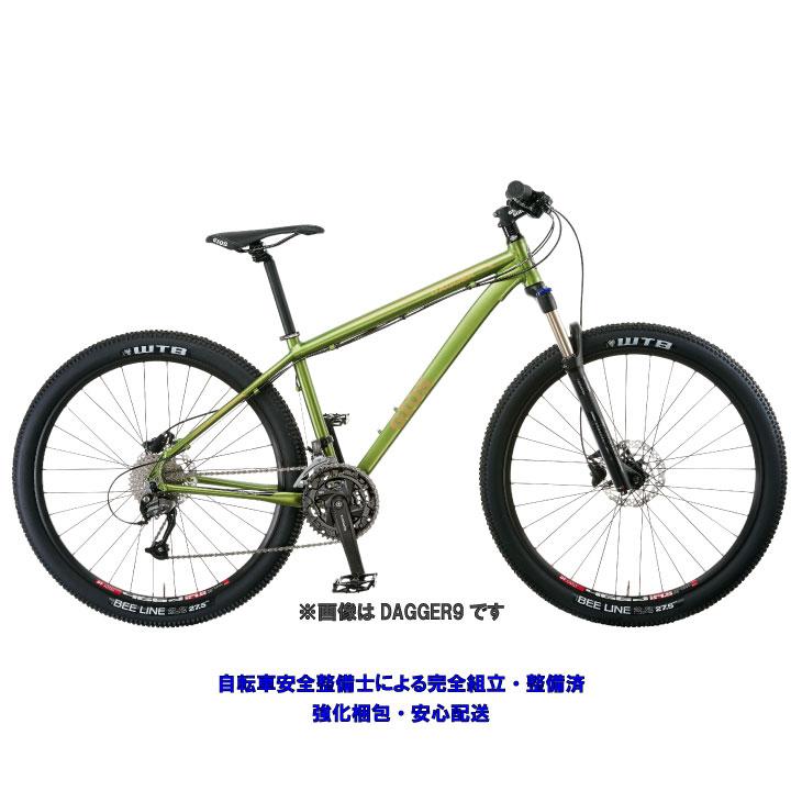 (特典付)マウンテンバイク 2019 GIOS ジオス DAGGER 8 ダガ―8 ライム