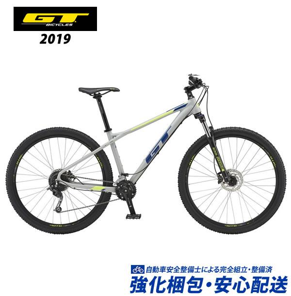 (特典付)マウンテンバイク 2019 GT AVALANCHE COMP アバランチェコンプ グレー