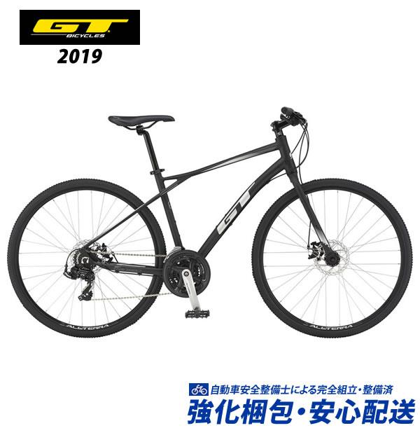 (特典付)クロスバイク 2019 GT TRANSEO SPORT トランセオスポーツ ブラック