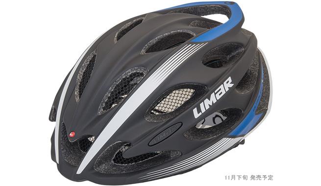 (予約受付中)(送料無料)LIMAR リマール Helmet ヘルメット ULTRALIGHT+ ウルトラライト+ マットブラック/ブルー